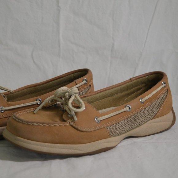 Women's Sperry Tan Boat Shoe
